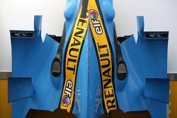 La carrosserie de la Renault F1
