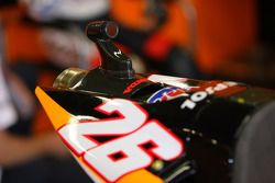 Caméra sur la moto de Dani Pedrosa
