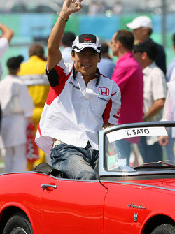 Parade des pilotes : Takuma Sato