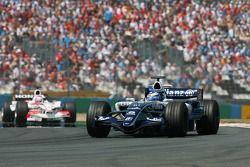 Nico Rosberg ve Franck Montagny