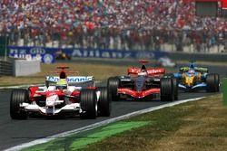 Ralf Schumacher devance Kimi Räikkönen et Giancarlo Fisichella