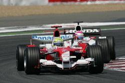 Ralf Schumacher ve Franck Montagny