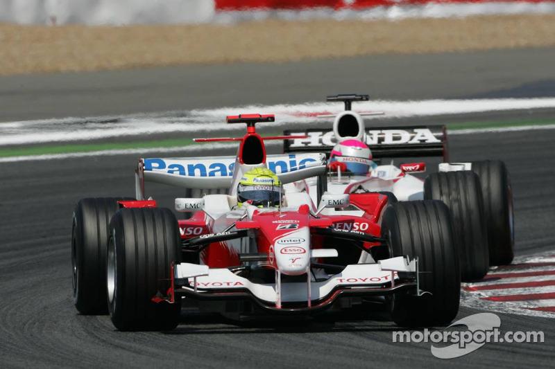 Ralf Schumacher devance Franck Montagny