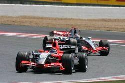 Christijan Albers et Kimi Räikkönen