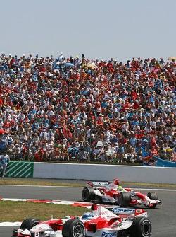Jarno Trulli et Ralf Schumacher