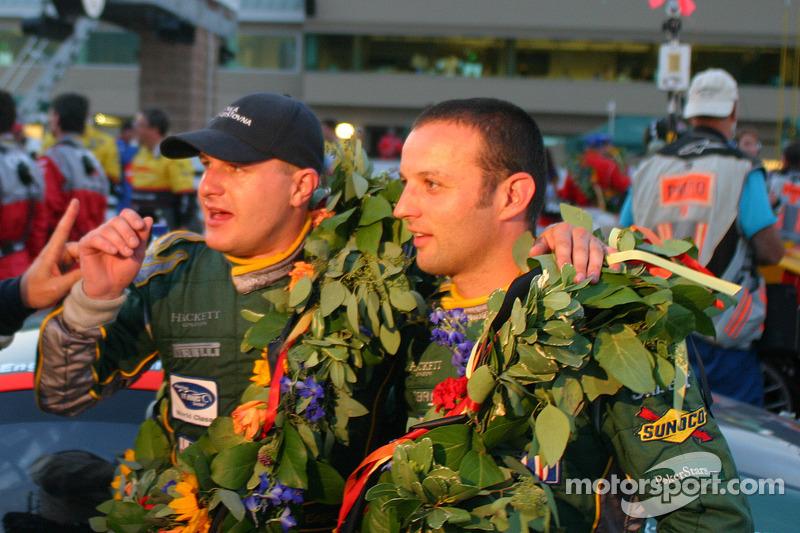 Darren Turner et Tomas Enge
