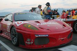 #62 Risi Competizione Ferrari 430 GT Berlinetta in victory circle