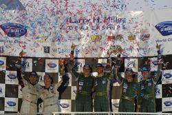 LM GT1 podium