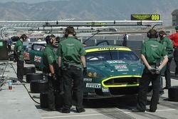 #009 Aston Martin Racing Aston Martin DB9 ready for qualifying