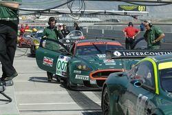 #007 Aston Martin Racing Aston Martin DB9 ready for qualifying