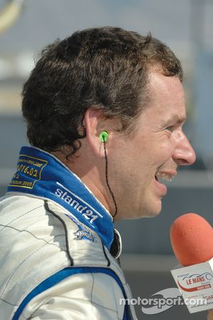 Butch Leitzinger post-qualifying interview for the ALMS Radio Web