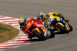 Toni Elias y Colin Edwards