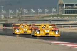 #6 Penske Motorsports Porsche RS Spyder: Sascha Maassen, Lucas Luhr and #7 Penske Motorsports Porsch