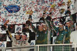 LMGT1 podium celebration
