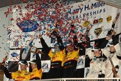 LMP2 podium celebration