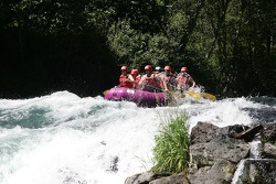 Panoz raft's turn to take the biggest splash of the trail