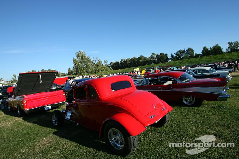 Un festival de voitures à Portland International Raceway