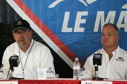 Conférence de presse d'Acura : Robert Clarke et Duncan Dayton