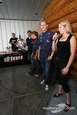 ALMS drivers fan event in Portland: Liz Halliday