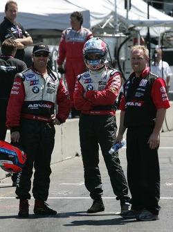 Pit crew challenge: Bill Auberlen and Joey Hand