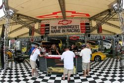 Chevrolet display at Portland International Raceway
