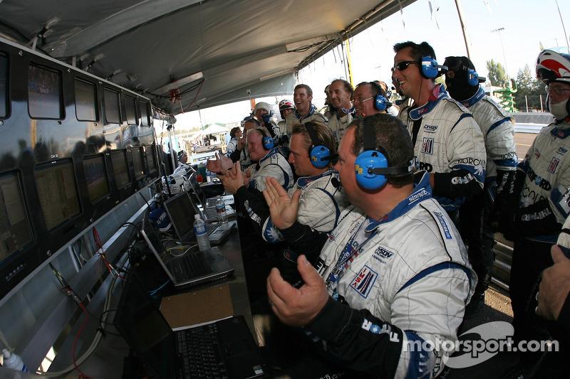 Beaucoup d'émotions chez Dyson Racing