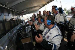 Emotions run high at Dyson Racing as their cars lead the race