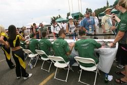 Aston Martin Racing drivers