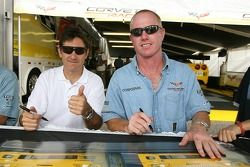 Ron Fellows and Johnny O'Connell