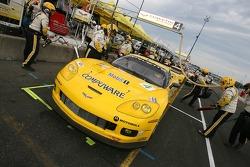 Corvette Racing Corvette C6-R on pitlane