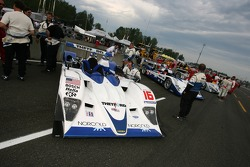 Dyson Racing Team Lola B06/10 AER on the starting grid