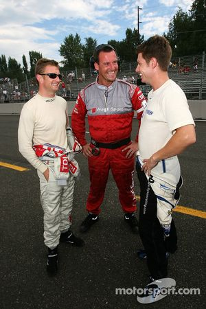 Allan McNish and Guy Smith