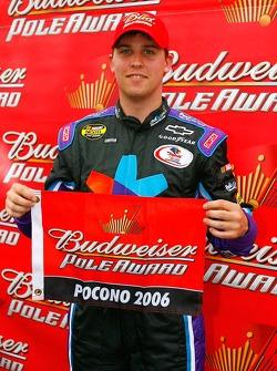 Pole winner Denny Hamlin
