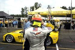 #4 Corvette Racing Corvette C6-R: Olivier Beretta