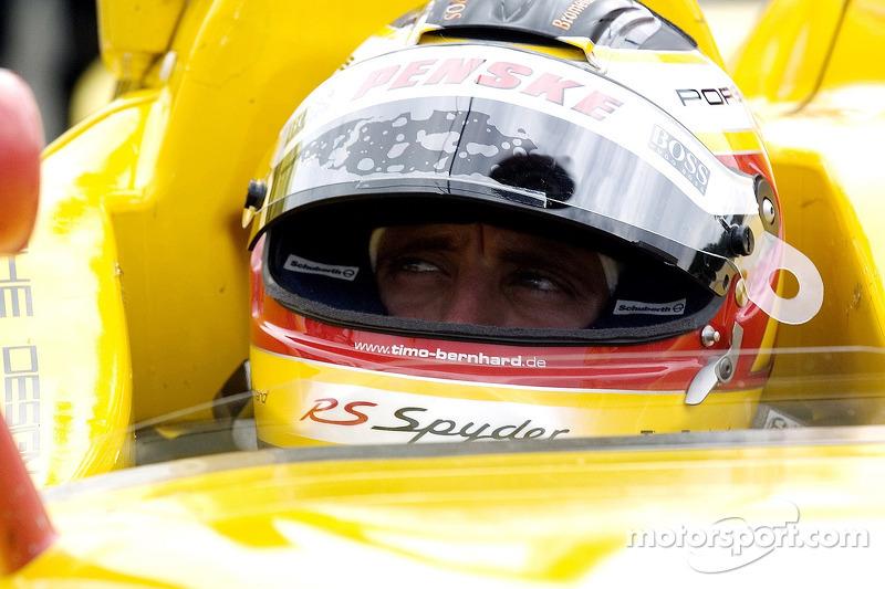 #7 Penske Motorsports Porsche RS Spyder: Timo Bernhard