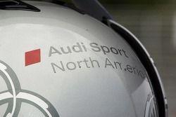 Audi Sport North America helmet
