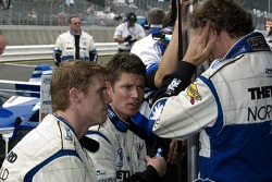 #20 Dyson Racing Team Lola B06/10 AER: Chris Dyson, Guy Smith and #16 Dyson Racing Team Lola B06/10