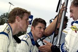 #20 Dyson Racing Team Lola B06/10 AER: Chris Dyson, Guy Smith and #16 Dyson Racing Team Lola B06/10 AER: James Weaver