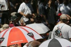 Un parapluie Ducati