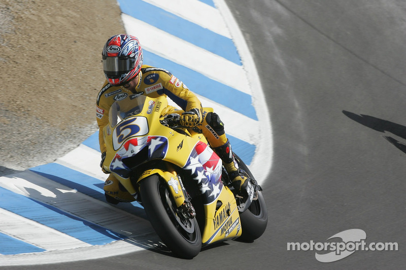 USA-Grand-Prix 2006: Colin Edwards (Yamaha)