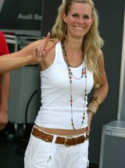 Eve Scheer, girlfriend of Frank Stippler