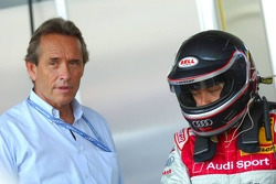 Vanina Ickx with her father Jacky