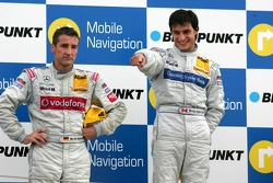 Podium: race winner Bruno Spengler and Bernd Schneider