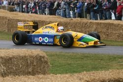 Benetton Cosworth B191: Martin Brundle