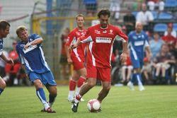 Spiel des Herzens, F1 Superstars plays against the RTL Superstars UNESCO event: Maurizio Gaudino