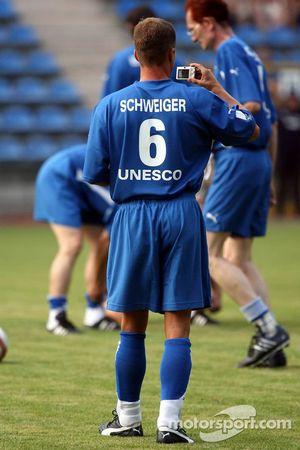 Spiel des Herzens, F1 Superstars plays against the RTL Superstars UNESCO event: Til Schweiger