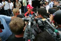 Entrevista a Michael Schumacher para TV