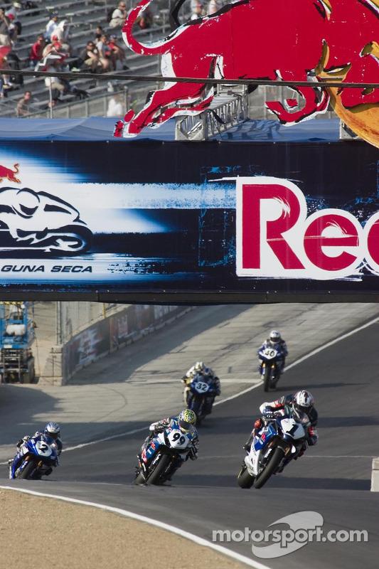 Action de course au troisième tour
