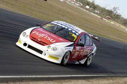 Greg Smith during qualifying