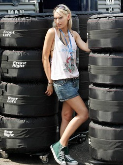 Sina Beckmann of the Red Bull Formula Unas girls